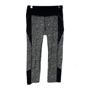 Athleta Honeycomb Connect Cropped Leggings XS
